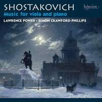 Shostakovich: Music for viola & piano