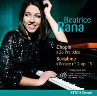 Beatrice Rana plays Chopin & Scriabin