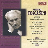 Rossini/Strauss/Beethoven-Rossini: Cenerentola Overture; Beethoven: Symphony No. 5