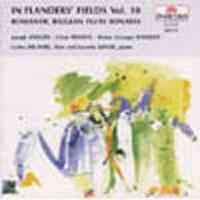In Flanders Fields Volume 10 - Romantic Belgian Flute Sonatas