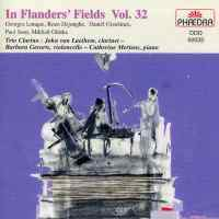 In Flanders Fields Volume 32 - Music for clarinet, cello and piano