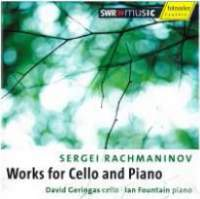 Rachmaninov - Works for Cello and Piano